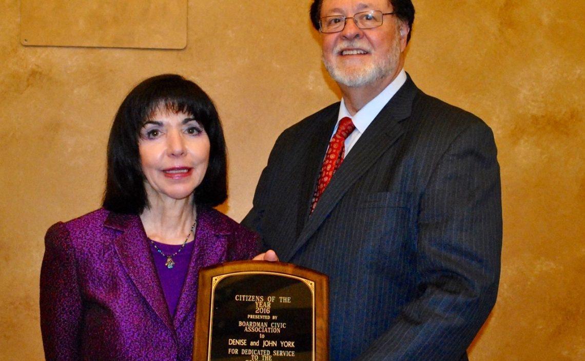 Denise and John York