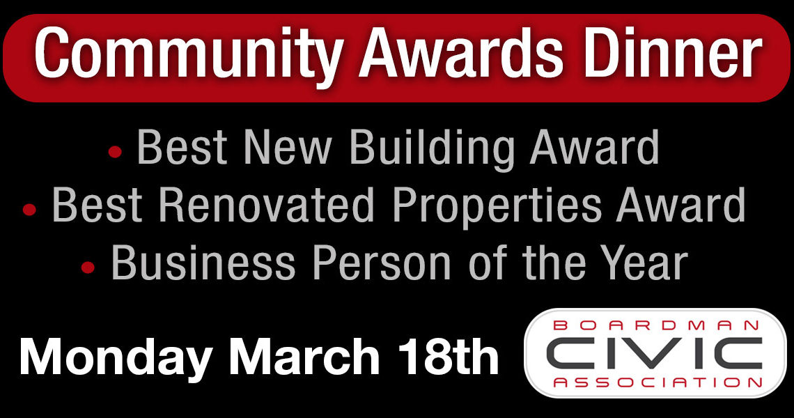 Don't Miss the 2019 Community Awards Dinner