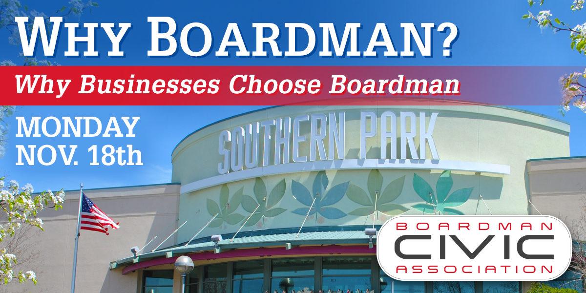 Why Boardman?